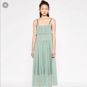 Gathered Tulle Zara Dress